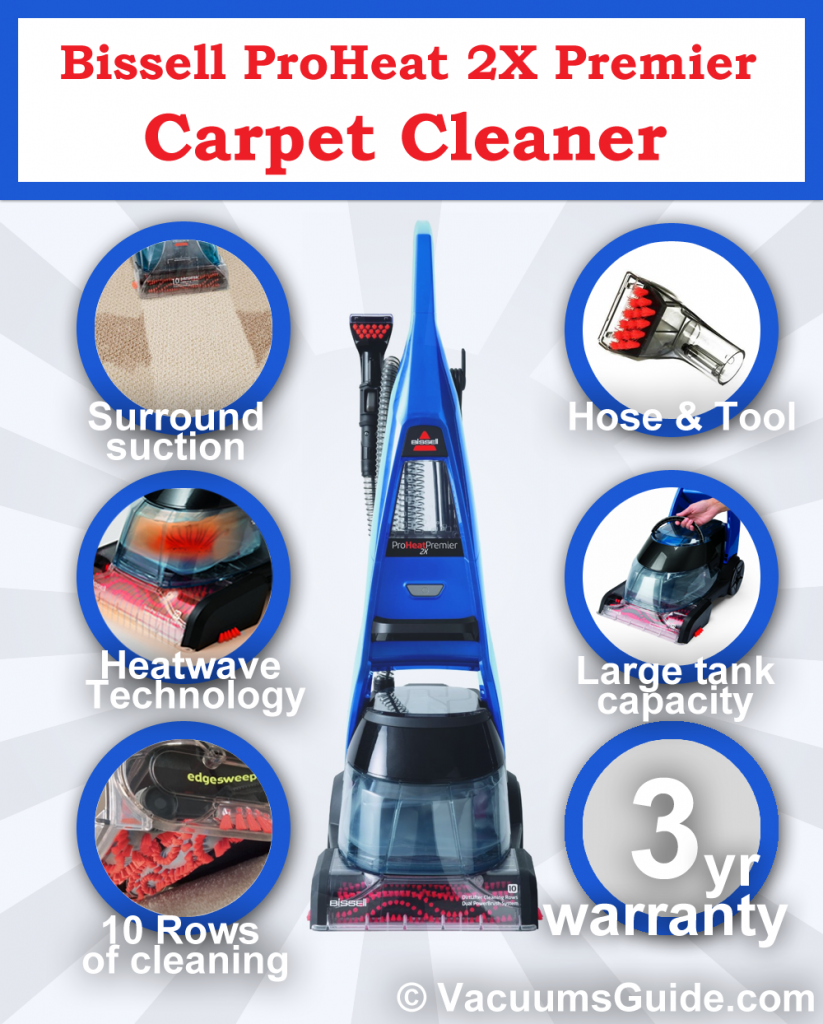 Bissell ProHeat 2X Premier - A trustworthy carpet cleaner?