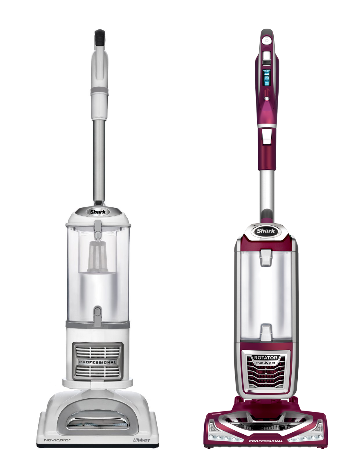 Shark Vacuum Comparison Chart Shark Navigator Vs Rotator