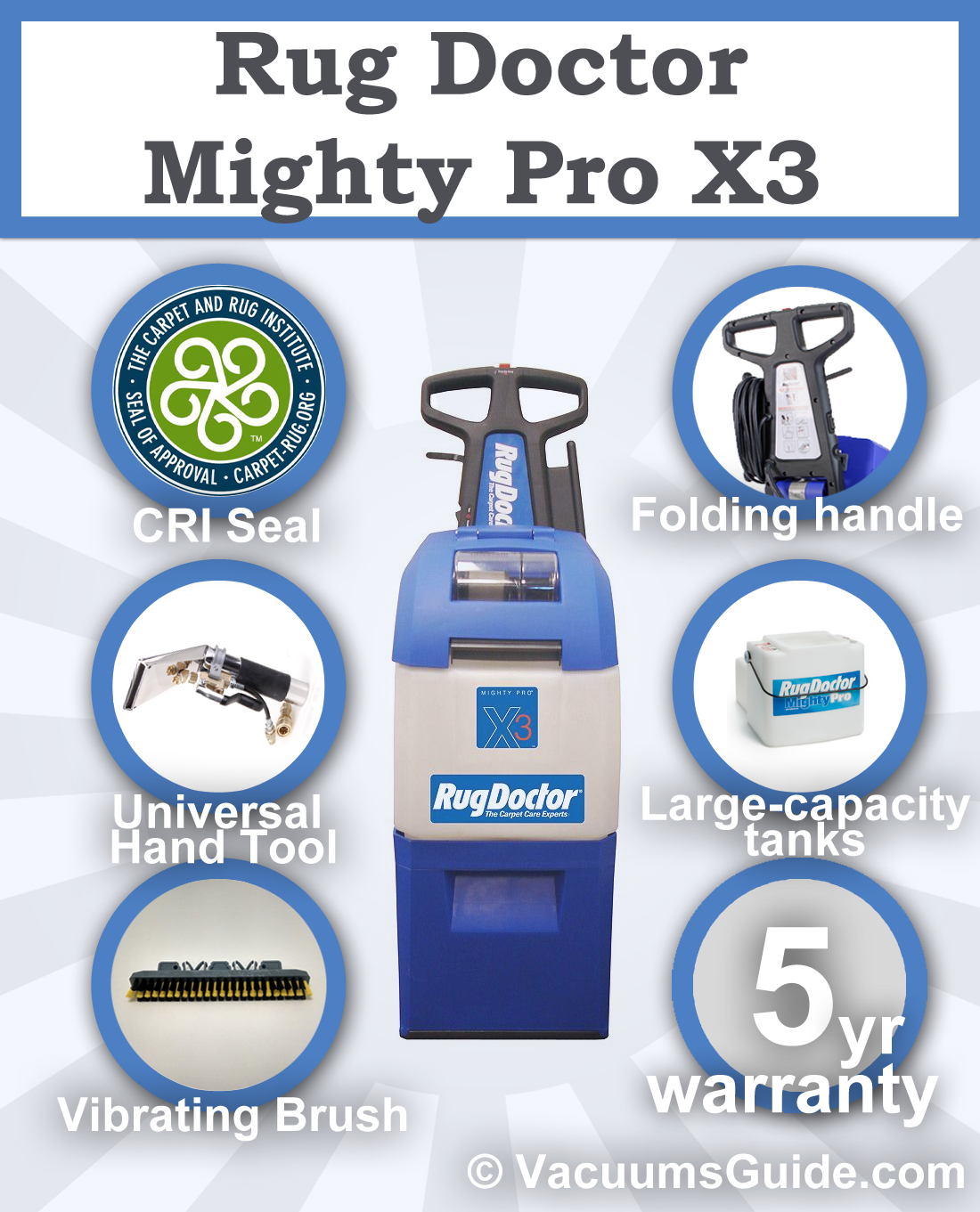 Lovely Rug Doctor Mighty Pro X3   Renting Or Buying?   Best Vacuum Cleaner   The  Ultimate Guide   Clean Smartly