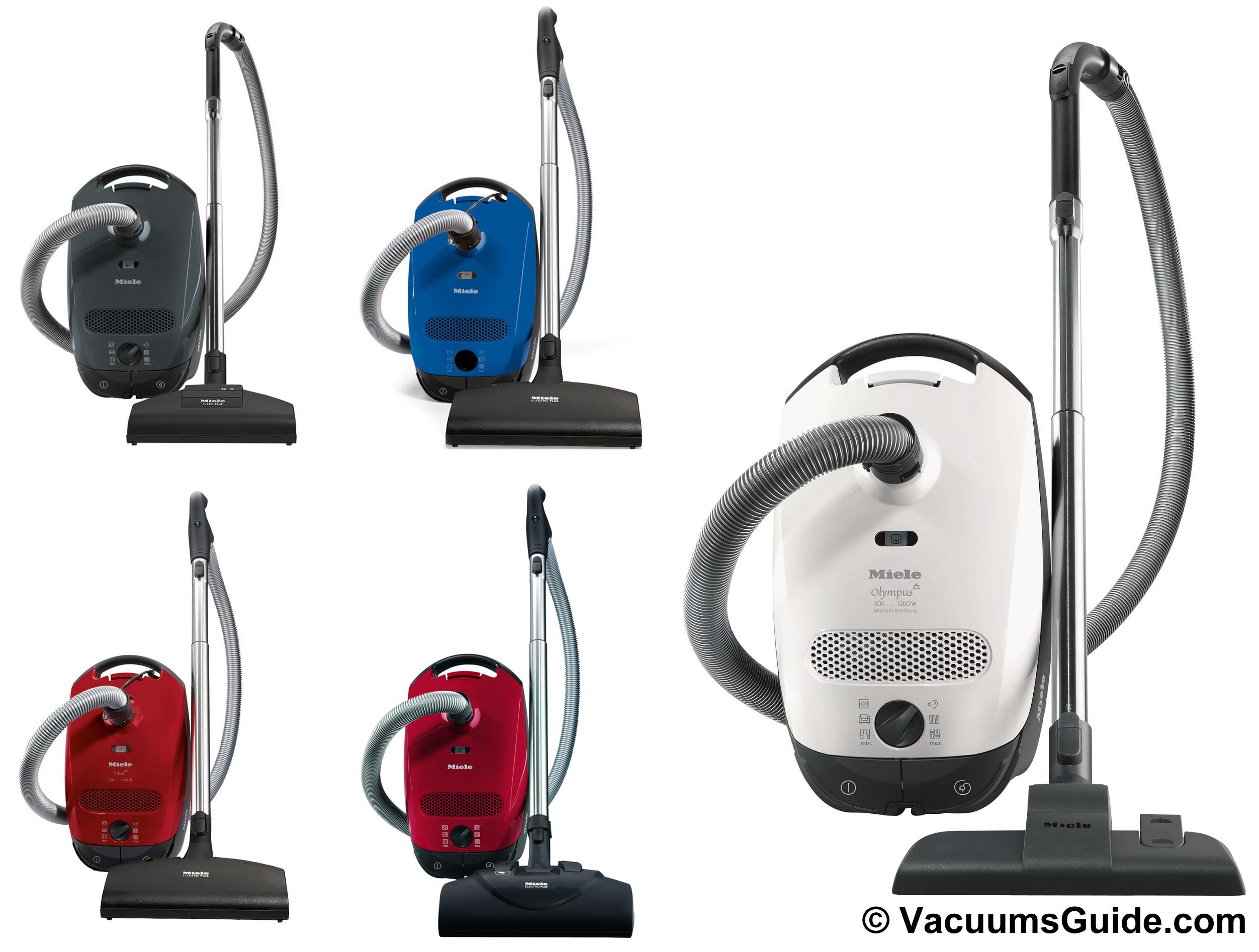 Miele C Classic Cat And Dog Vacuum