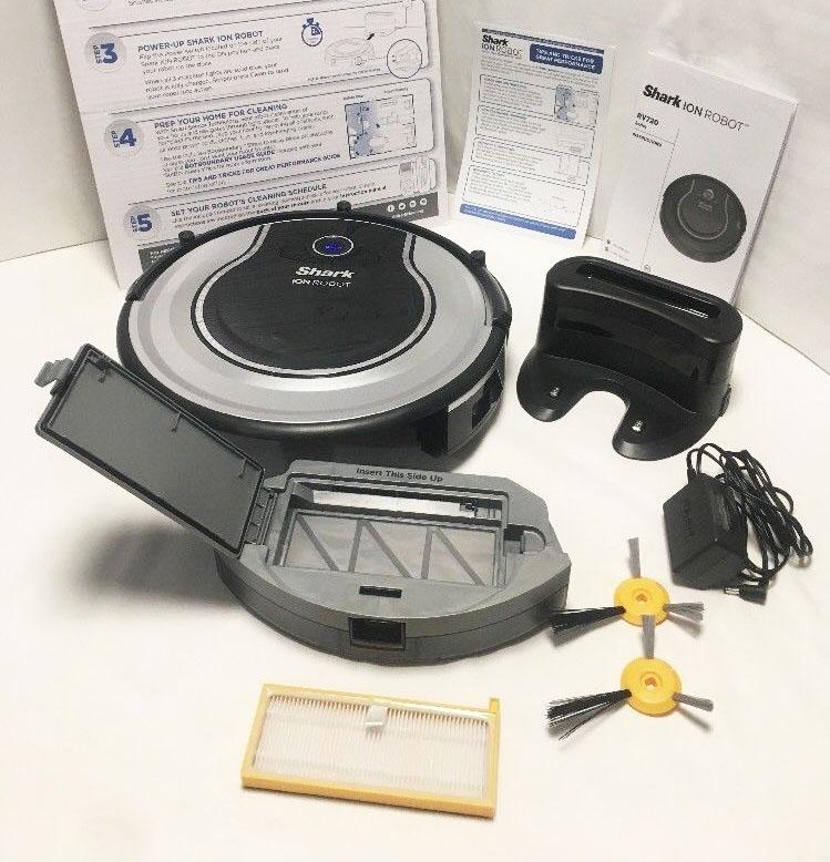 - Shark Ion RV850 Robot Vacuum -rvbat700/_n Battery Pack 2 Prong