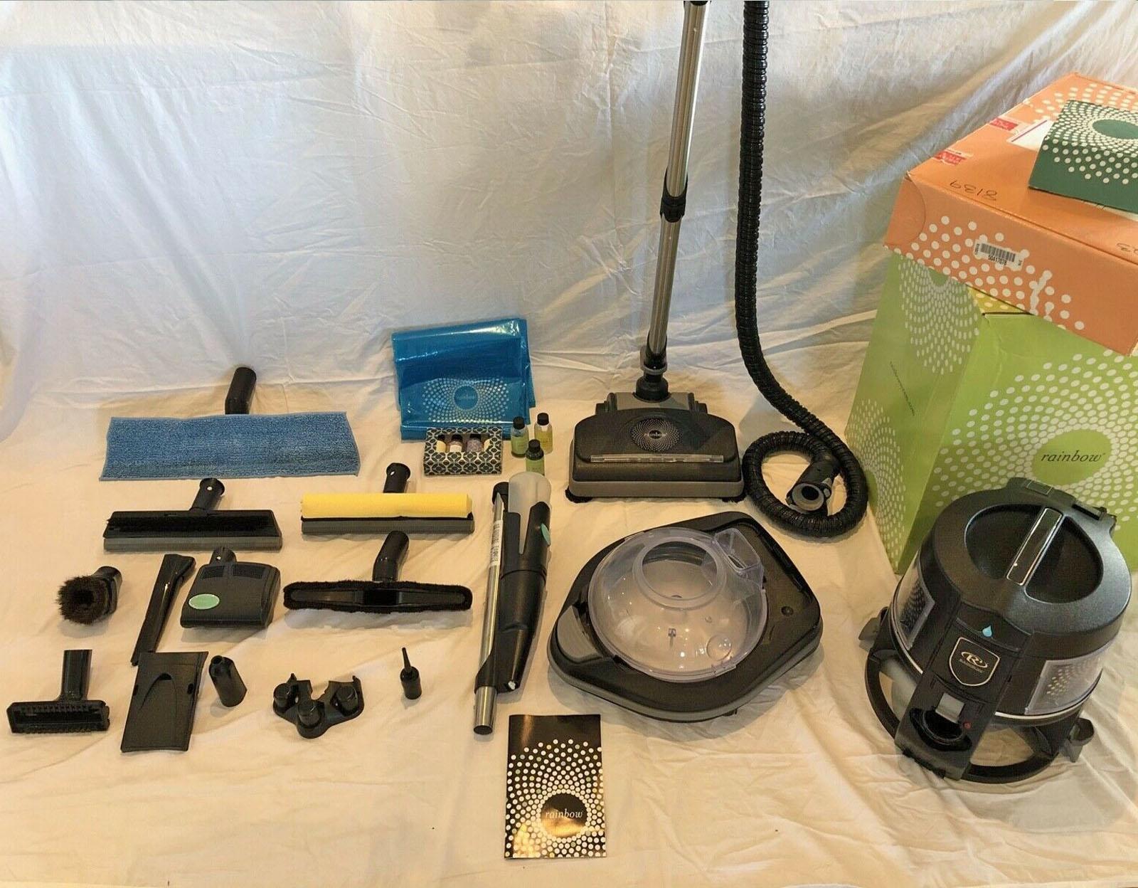 Rainbow vacuum motorized power nozzle head for E2 illuminated Black Newest model